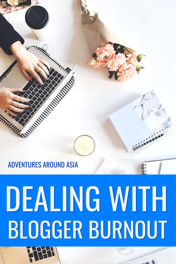 Dealing with blogger burnout as a travel blogger in 2020. Here's how I found passion in creating and writing my blog again! #blogger #travelblogger #burnout #travel #blog