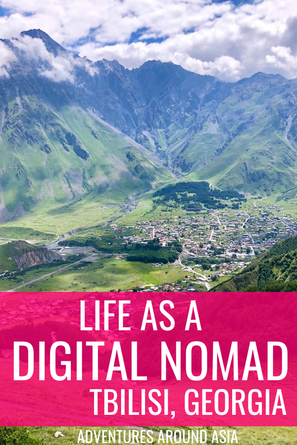 want to know what it's like to be a digital nomad in Tbilisi Georgia? Here's a look at expat life in tbilisi!