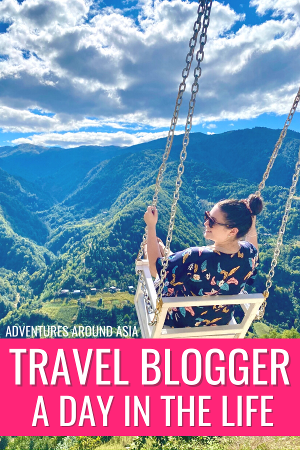 What's it like to be a travel blogger in Tbilisi, Georgia? Here's a day in the life of a location independent digital nomad and travel blogger! #travel #locationindependent #travelblogger #writer #digitalnomad