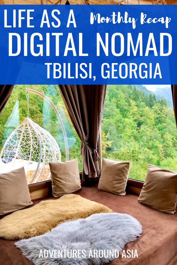 what's it like to live as an expat in Tbilisi Georgia? Here's my daily life as a digital nomad travel blogger! #travel #tbilisi #georgia #expat #digitalnomad #travelblogger