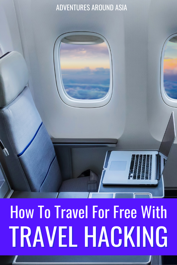 Do you want to learn travel hacking? Here's how to use points, miles, and rewards to get free flights and hotels! #travel #travelhacking